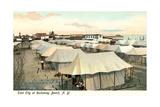 Tent City, Rockaway Beach, New York Prints
