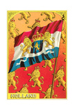 Flag of Holland Poster