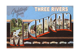 Greetings from Three Rivers Print