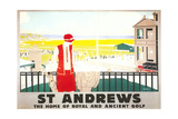 Poster for St. Andrews Affiches