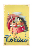 Travel Poster for Turin Prints