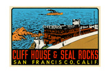 Cliff House Decal Prints