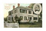 Home of Ralph Waldo Emerson, Concord Prints