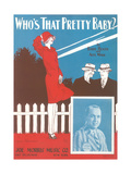 Who's That Pretty Baby Sheet Music Posters