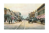 Central Avenue, Far Rockaway, New York Print