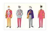 Band Uniforms Print