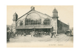 Railway Station in Le Havre, France Prints