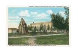 Teepee Fountain, Thermopolis Prints