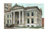 Carnegie Library, Binghamton Print