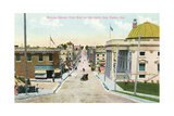 Beacon Street, San Pedro, California Print