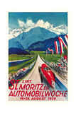 Poster for Swiss Auto Race Art