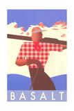 Ski Basalt Poster Prints