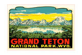 Grand Teton Decal Kunst
