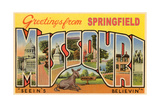 Greetings from Springfield Poster