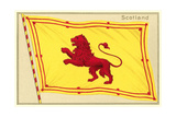Flag of Scotland Prints