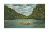 Mammoth Cave National Park, Green River Poster