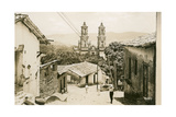 View of Taxco Cathedral Prints