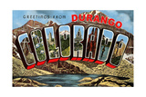 Greetings from Durango Poster