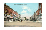 Ninth Street, Coffeyville Poster