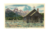 Church of the Transfiguration, Teton National Park Posters