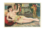Turkish Harem Girl Prints
