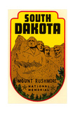 Mount Rushmore Decal Posters