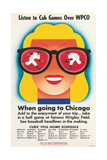 Chicago Cubs Schedule 1956 Posters