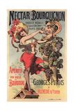 Nectar Bourguiignon Apertif Ad Print