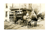 Horse-Drawn Delivery Van Posters