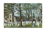 Christ Church Graveyard, Cooperstown Posters
