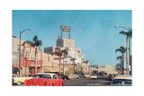Beverly Drive in the Fifties Kunstdrucke
