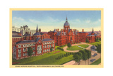 Johns Hopkins Hospital, Baltimore Prints
