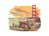 Golden Gate Bridge Print