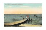 Vintage Oshkosh Pier Posters