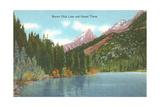 Beaver Dick Lake, Grand Teton Print