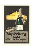 Kupferberg Champagne Ad Art