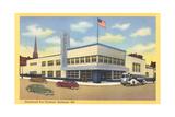 Greyhound Bus Terminal, Baltimore - Poster