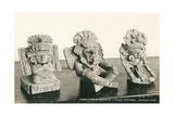 Zapotec Figurines, Oaxaca Print