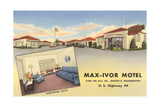 Max-Ivor Motel, Seattle, Washington Posters