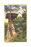Jumping Stand Rock, Wisconsin Dells Poster