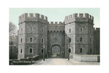 Henry VIII's Gateway, Windsor Castle Posters