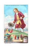 Gulliver's Travels Trade Card Print