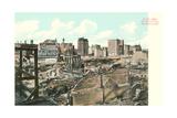 Baltmore after Great Fire Kunstdruck