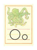 O Is for Octopus Poster