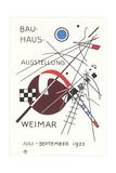 Poster for Bauhaus Exhibition Kunstdrucke