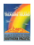 Travel Poster for Treasure Island Exposition Prints