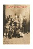 Kids in Costumes Print