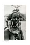 Masai Woman with Ear Hoops Posters