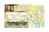 Map of Maryland Art