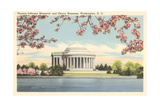 Jefferson Memorial, Tidal Basin Prints